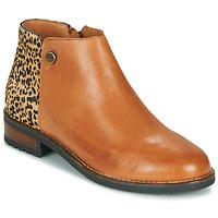 Zapatos Mujer Botas de caña baja Pataugas MEGAN/PO F4F Camel