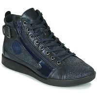 Zapatos Mujer Zapatillas altas Pataugas PALME/C F4F Marino