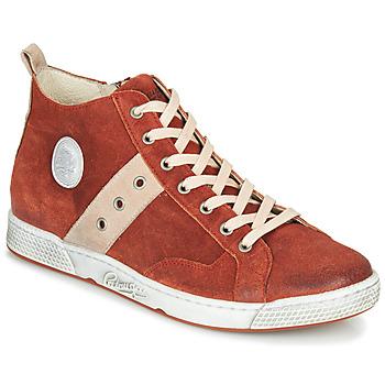 Zapatos Hombre Zapatillas altas Pataugas JAGGER/CR H4F Ladrillo
