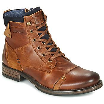 Zapatos Hombre Botas de caña baja Redskins YANI Cognac
