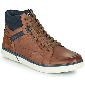 Zapatos Hombre Zapatillas altas Redskins ZOUK Marrón