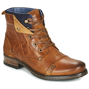 Zapatos Niño Botas de caña baja Redskins YEDES CADET Cognac