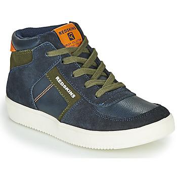 Zapatos Niño Zapatillas altas Redskins LAVAL KID Marino / Kaki