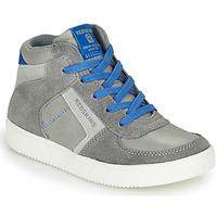 Zapatos Niño Zapatillas altas Redskins LAVAL KID Gris / Azul