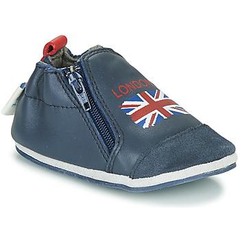 Zapatos Niños Pantuflas Robeez LONDON FLAG Marino
