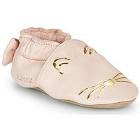 Zapatos Niña Pantuflas Robeez GOLDY CAT Rosa / Oro