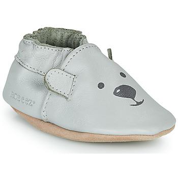 Zapatos Niños Pantuflas Robeez SWEETY BEAR Gris
