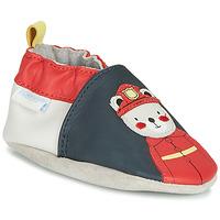 Zapatos Niño Pantuflas Robeez FIREMAN Marino / Rojo
