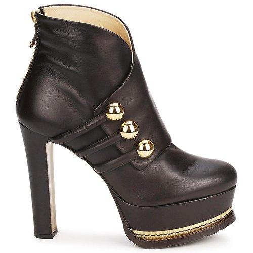 Zapatos Moschino DarkBrown Ma2104 Mujer Botines NPX8nZ0wOk