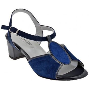 Zapatos Mujer Sandalias Confort  Azul