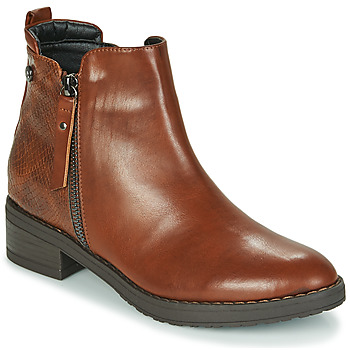 Zapatos Mujer Botas de caña baja Xti 44721 Marrón