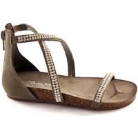 Zapatos Niña Sandalias Bottega Artigiana BOT-3977-BABY-CE Grigio