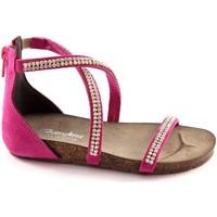 Zapatos Niña Sandalias Bottega Artigiana BOT-3977-BABY-FU Rosa