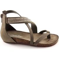Zapatos Niños Sandalias Bottega Artigiana BOT-3979-BABY-CE Grigio