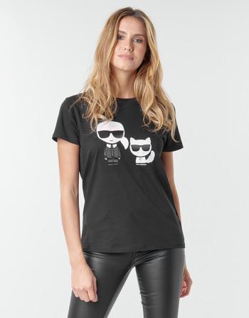 Karl Lagerfeld IKONIK KARL & CHOUPETTE TEE