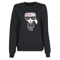 textil Mujer Sudaderas Karl Lagerfeld IKONIK KARL SWEATSHIRT Negro