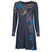 textil Mujer Vestidos cortos Desigual WASHINTONG Azul