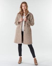 textil Mujer Abrigos Cream AMELIA COAT Beige