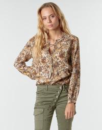 textil Mujer Tops / Blusas Cream AUGUSTA BLOUSE Multicolor