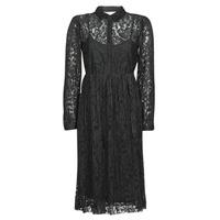 textil Mujer Vestidos cortos Cream ALICIA DRESS Negro