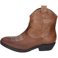 Zapatos Mujer Botines Impicci botines cuero marrón