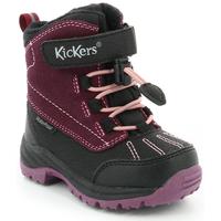 Zapatos Niños Botas de nieve Kickers Jump Wpf Negro