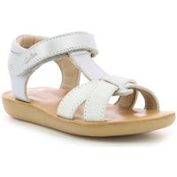 Zapatos Niña Sandalias Aster Terry Plateado