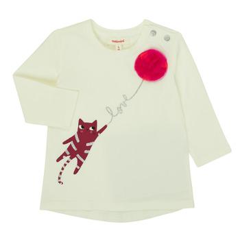 textil Niña Camisetas manga larga Catimini CR10063-11 Rosa