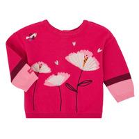 textil Niña Chaquetas de punto Catimini CR18033-35 Rosa