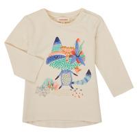 textil Niña Camisetas manga larga Catimini CR10053-12 Blanco