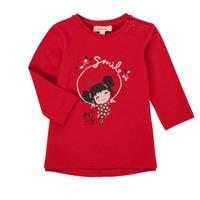 textil Niña Camisetas manga larga Catimini CR10043-38 Rojo