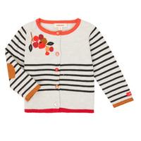 textil Niña Chaquetas de punto Catimini CR18003-19 Multicolor