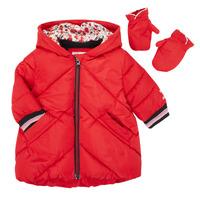 textil Niña Plumas Catimini CR42013-38 Rojo