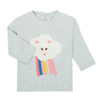 textil Niña Camisetas manga larga Catimini CR10093-21 Gris