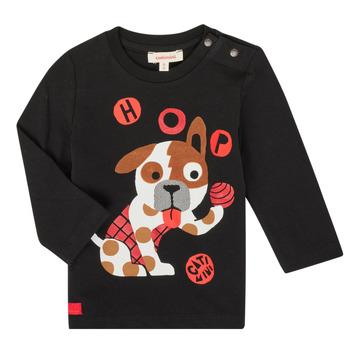 textil Niño Camisetas manga larga Catimini CR10022-02 Negro