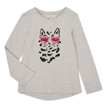 textil Niña Camisetas manga larga Catimini CR10275-26-J Gris