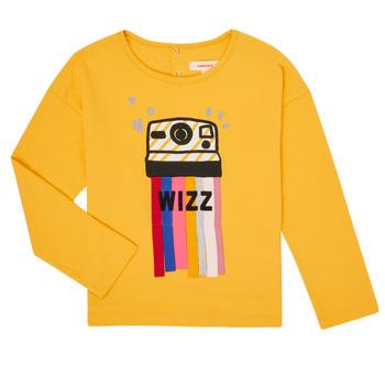 textil Niña Camisetas manga larga Catimini CR10135-72-C Amarillo