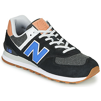 Zapatos Hombre Zapatillas bajas New Balance 574 Negro / Azul
