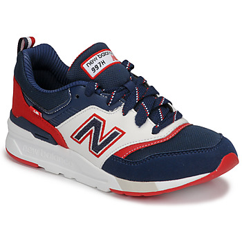 Zapatos Niño Zapatillas bajas New Balance 997 Azul / Blanco / Rojo