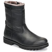 Zapatos Hombre Botas de caña baja Panama Jack FEDRO Negro