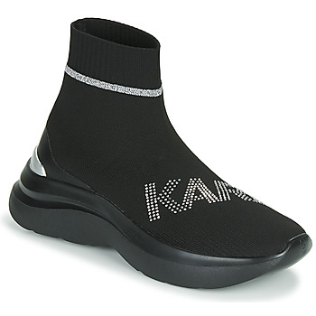 Zapatos Mujer Zapatillas altas Karl Lagerfeld SKYLINE KARL RHINESTONE PULL ON BT Negro