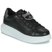 Zapatos Mujer Zapatillas bajas Karl Lagerfeld KAPRI IKONIC TWIN LO LACE Negro