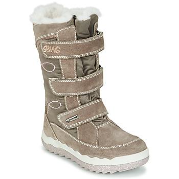 Zapatos Niña Botas de nieve Primigi FROZEN GTX Beige / Marrón