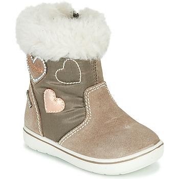 Zapatos Niña Botas de caña baja Primigi SNORKY GTX Marrón
