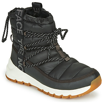 Zapatos Mujer Botas de nieve The North Face W THERMOBALL LACE UP Negro / Blanco