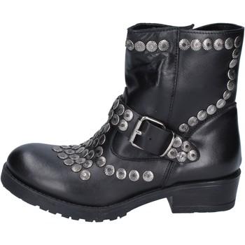Zapatos Mujer Botines Brawn's BM192 negro