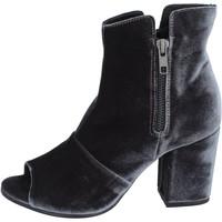 Zapatos Mujer Botines Lemaré botines terciopelo gris