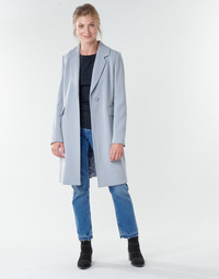 textil Mujer Abrigos Benetton 2AMH5K2R5 Gris