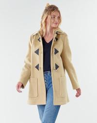 textil Mujer Abrigos Benetton 2BZP53655 Beige