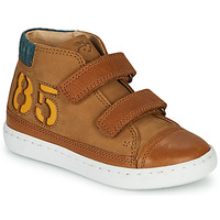 Zapatos Niño Zapatillas altas Shoo Pom PLAY ALPHA Marrón